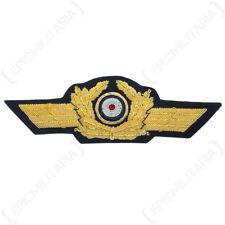 Luftwaffe General Visor Cap Wreath and Cockade - WW2 Repro German Badge Pilot