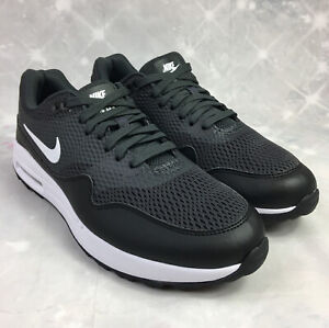 Nike Air Max 1 G Spikeless Golf Shoes Black/White CI7736-100 Women's Sz 10 NEW.