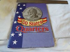 Unites States 50 Quarters Collection Booklet with 24 coins