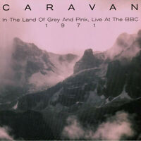 CARAVAN ‎– In The Land Of Grey And Pink Live  VINYL LP