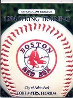 Boston Red Sox 1994 Spring Training MLB Baseball  MBX74