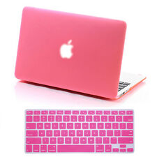 Rubberized Hard Shell Case Cover Keyboard MacBook Pro 13/15 Air 11/13 Retina 12""