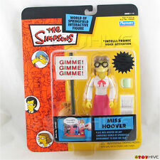 Simpsons teacher Miss Hoover series 14 intellitronic WoS Playmates action figure