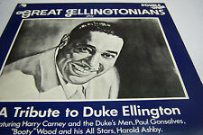 33RPM Jazz Vinyl Great Ellingtonians plays A Tribute To Duke     021313JDE