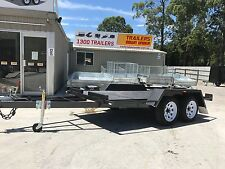 10x5 CAR CARRIER Dual Axle Australian MADE!!!