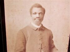 1880's possible African American Preacher-w-top hat in Washington D.C. photo