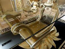Klassischer Designer XXL Big Tisch Glastisch Tische Esszimmer Barock Rokoko Neu
