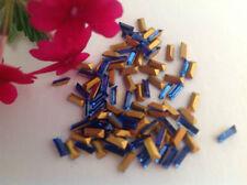 Perline sfuse di strass oro
