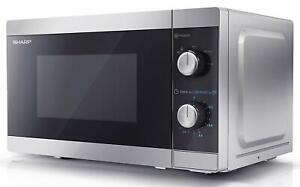 Sharp YC-MS01U-S 20L 800W Microwave  (Silver) B+
