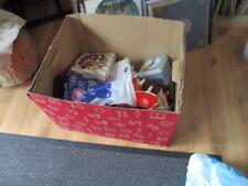 Große Kiste mit Weinachtsdeko Christbaumkugeln Christbaumschmuck Weihnachten Nr2