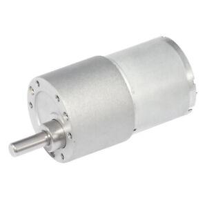 Small motor DC gear motor with diameter 37mm12v 14~90rpm engine,RC smart car DIY