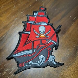 "Huge 9"" Tampa Bay Buccaneers Ship Patch Bucco Tom Brady  Super Bowl LV 55"