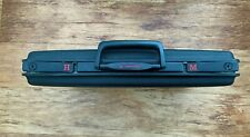Vintage (1980s)  Samsonite Hard Shell Black Briefcase (Slimline)