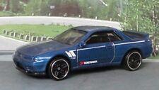 Nissan Skyline GT-R (BNR32) 1:64 (Azul) Realtoy MIB Diecast Coche Deportivo Sellado