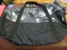 NWT Black, Gray & White Under Armour Favorite Storm Duffle Bag