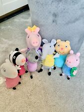 Peppa Pig And Friends Plush Bundle Toys