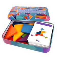 Wooden Variable Tangram Jigsaw Baby Toys Chiladen Early Education Puzzle Toy