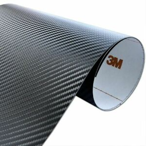 3M DI-NOC CA421 Carbon Fibre Black Wrap Vinyl Genuine 3M