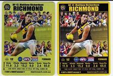 2008 Teamcoach Best And Fairest Wildcards -  Matthew Richardson, GOLD Card