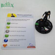 Heroclix Superman set Project: Superman #032 Uncommon figure w/card!