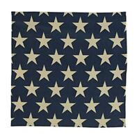 """Country new  AMERICAN vintage STARS 18"""" square table mat  / nice"""
