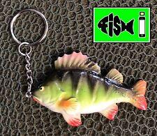Perch Keyring. Fishing Keyring.Anglers Keyring. Perch Lure Fishing. Great Gift!