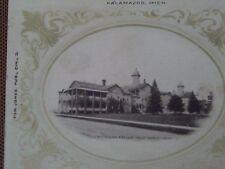 RARE 1906 TOM JONES CINCINNATI PUBLISHER POSTCARD MICHIGAN MALE ASYLUM KALAMAZOO