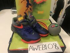 NIKE KD IV 4 NERF 517408-400 Size 10.5 Limited Kevin Durant FULL SET