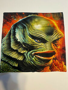 """New Pillow Case 18"""" by 18"""" PILLOW CASE ONLY Horror Universal Monster Creature"""