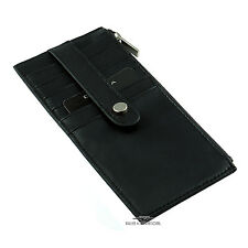 Black Leather Credit Card 6-stack by Dilana™