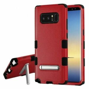 MYBAT TUFF HYBRID PROTECTOR CASE FOR GALAXY NOTE 8 W/MAGNETIC METAL STAND -