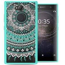 For Sony Xperia L2 Case Hard Back Bumper Shockproof Slim Phone Cover