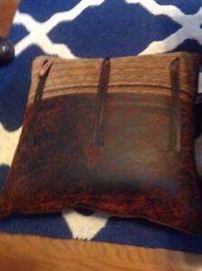 Croscill Plateau Toggle Pillow, 20' X 20' See Description, NEW