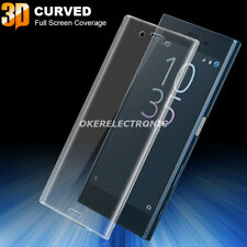 3D 4D 5D Full Cover Tempered Glass+TPU Case Cover For Sony Xperia XA2 XZ3 1 10 5