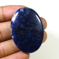 NATURAL BLUE SODALITE CABOCHON 45.95Cts OVAL LOOSE GEMSTONE FOR JEWELRY SD-18
