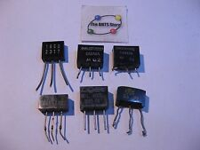 Dual Diode Rectifier Television TV Repair Assorted - Vintage Used Pulls Qty 6