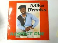 Mike Brooks - Respect Due - Vinyl LP UK COPY