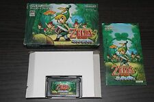 Zelda Minish Cap GBA Game Boy Advance Japan - Japanese Version