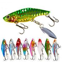 Vibrationen Löffel Lure Lead Casting Fischerei Metall VIB Lures Jig Metal Slice