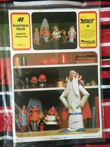 rare Astérix panoramix (miraculix) découpage de 1973 Dargaud sa paris