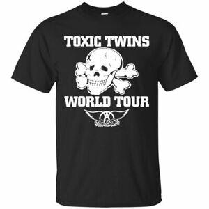 Toxic Twins Aerosmith Short Sleeve T-shirt Size S-5XL