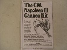 69 Cal Black Powder Signal Cannon  Napoleon Civil War Manual