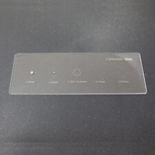 Far scorrere 0,01 millimetri microscopio fase di taratura per micrometro USB Cam