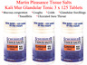 Martin Pleasance Kali Mur GLANDULAR TONIC Schuessler Tissue Salts 3 x 125 Tabs