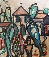 Henry Maurice D'ANTY (1910-1998) HsT Jeune Peinture Nle Ecole de Paris Fauvisme