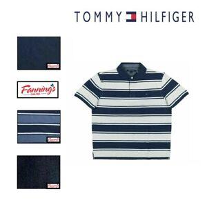 SALE! MSRP$49 Tommy Hilfiger Men's Short Sleeve Knit Mesh Polo Shirt VARIETY J41