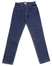 """New """"ESPRIT"""" Slim Cut Denim Jean Women Size 6-8 Cotton Pants Trousers Blue"""