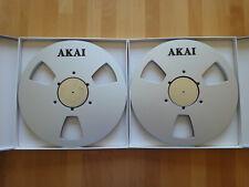 2 AKAI 35-180 NAB Alu Spulen 26,5cm für AKAI GX 620/625/630/635/636/646/747
