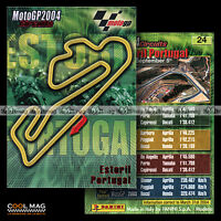 #pngp04.024 ★ CIRCUIT D'ESTORIL (PORTUGAL) ★ Panini Moto GP 2004