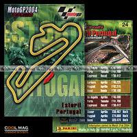 #pngp04.024 ★ CIRCUIT D'ESTORIL (PORTUGAL) ★ Panini Moto GP 2004